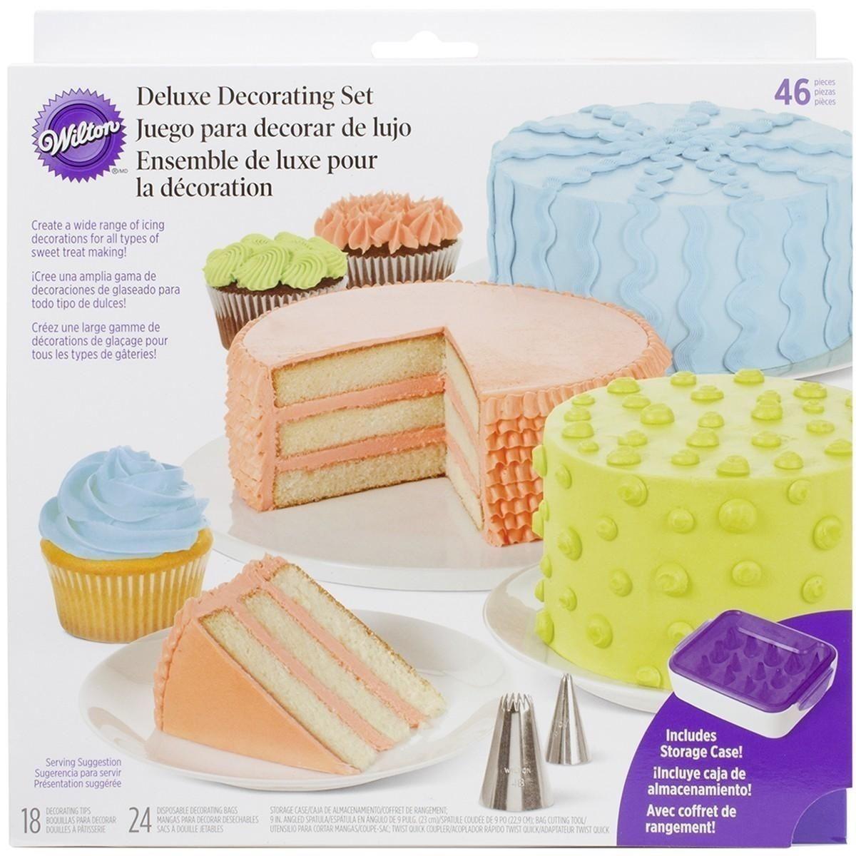 Wilton 6 Pc Silicone Tip Cover Set Cake Decorating Tools