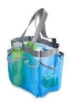 Mesh Shower Caddy Portable College Gym Dorm Travel Hanging Bag Tote Bath... - ₨1,155.32 INR