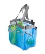 Mesh Shower Caddy Portable College Gym Dorm Travel Hanging Bag Tote Bath... - €14,67 EUR