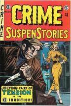 E.C. Classic Reprint #6 Crime Suspense Stories Comic Book #25 ECC 1974 V... - $7.84
