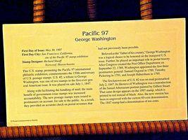 Pacific 97 George Washington Stamp 1997 AA19-ST6024 image 4