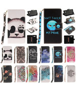 Leather Patter Wallet & Hand Rope Cover Case for Samsung Galaxy J5 2016 ... - $14.84