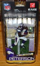 McFarlane NFL 2010 Adrian Peterson Minnesota Vikings Purple Jersey - Ser... - $14.50