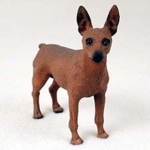 Conversation Concepts Miniature Pinscher Red & Brown Standard Figurine - $14.99