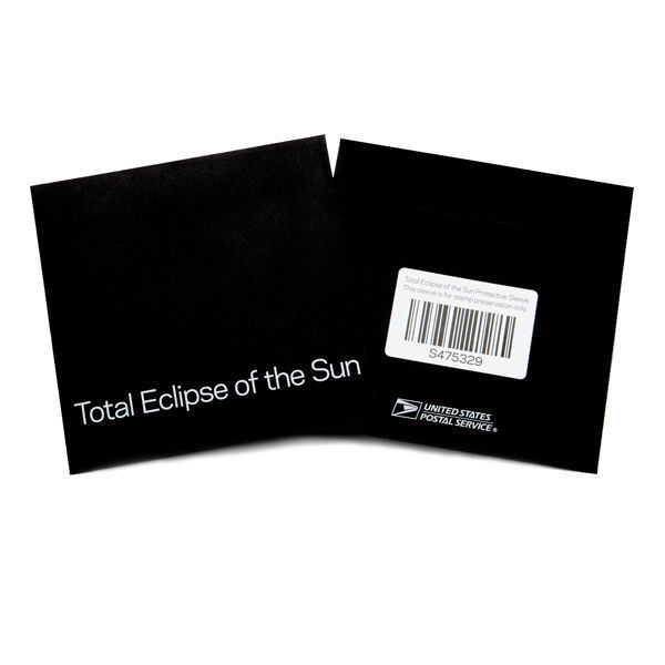 Total Eclipse of the Sun USPS Limited Edition Forever Stamps Full Sheet + Sleeve