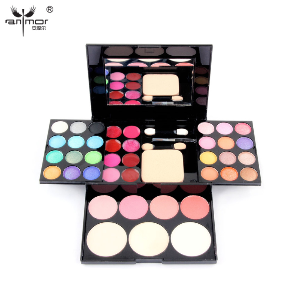Anmor® Makeup Palette 39 Colors Eye shadow With Eye Primer Luminous Cosmetics - $17.55