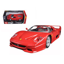 Ferrari F50 Red 1/24 Diecast Model Car by Bburago 26010r - $30.44