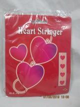 1998 Beistle Valentine's Day 9-Heart Stringer, 6-1/2 ft long, Paperboard... - $1.98