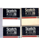 Reel-to-Reel Scotch Magnetic Tape (Lot of 4 Tapes) - $12.00