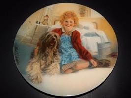 Annie Sandy Musical William Chamber Bradford Exchange Knowles Plate 1982 - $24.74