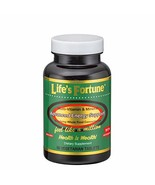 Life's Fortune Multivitamin & Mineral 90 Tablets, All Natural Energy Sou... - $36.19