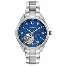Bulova 96P191 Women's Classic Blue Mother of Pearl Automatic Steel Watch - $226.71