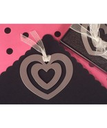 Mark It With Memories Heart Within Heart Design Bookmark - 60 Pieces - $55.95