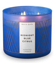 White Barn Midnight Blue Citrus Three Wick 14.5 Ounces Scented Candle - $22.49