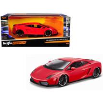 Lamborghini Gallardo LP 560-4 Red Exotics 1/24 Diecast Model Car by Mais... - $37.27