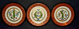 Vintage JOY Plates set of 3 Home Interiors #56077 very detailed 8 inch d... - $20.78