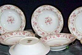 Noritake China (8 Dessert Bowls) Charmaine 5506 AA20-2360H Vintage image 2