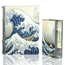 The Great Wave off Kanagawa by Hokusai Book Box Set of 2 Japanese Nestli... - $45.53