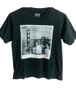 Star Wars Boys Black Skywalker T Shirt Sz L - $12.00