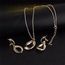 Women Designer Fashion Crystal Jewelry Set image 8