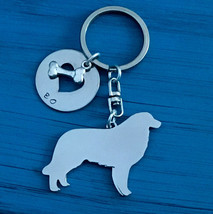 Bernese Mountain Dog Custom Keychain.  Berner.  Bernese Cattle Dog.  Dog Breed J - $18.00