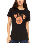 Halloween Minnie Mouse t shirt, minnie mouse glittered artwork design t... - $19.79+