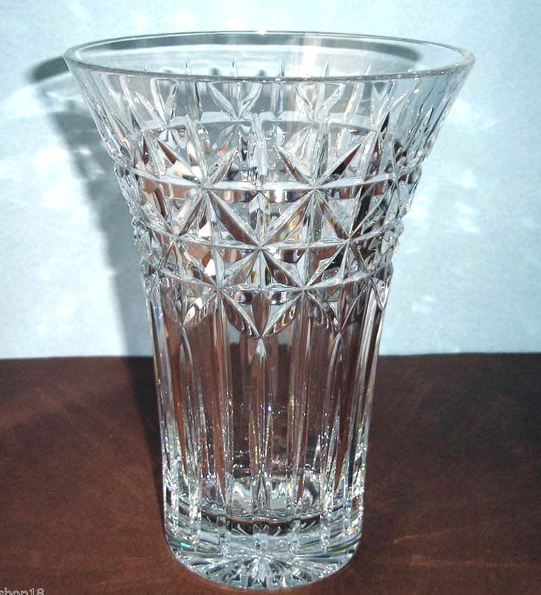 Waterford Irish Stars Flared Vase 10h And 50 Similar Items