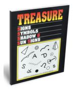 Treasure Signs, Symbols, Shadow & Sun Signs - $49.95