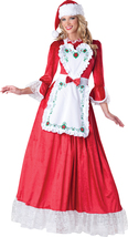 In Character Womens Mrs. Claus Adult Costume, Red/White - ICC-31002 - $59.95