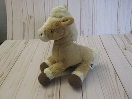 BD Jellycat Caffuffle Palamino Pony Horse Light Tan White Mane Tail  - $29.69