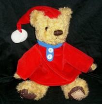 Vintage Teddybär Tum Commonwealth Bär Plüschtier Plüsch Spielzeug W/Mantel & Hut - $24.88