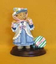 Dept 56 Henrietta Bosworth The Easter Bonnet Figurine Upstairs Downstairs Bears - $9.99
