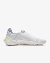 Men's Running Shoe Nike Free RN Flyknit  3.0 Pure Platinum/Luminous  - $120.09
