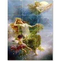 Hans Zatzka Mythology Painting Tile Murals BZ23270. Kitchen Backsplash Bathroom  - $120.00+