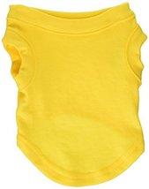 Mirage Pet Products 8-Inch Plain Shirts, X-Small, Yellow - $10.50