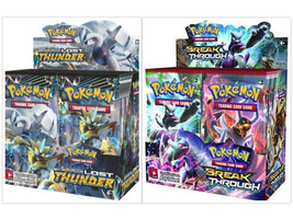 Pokemon TCG XY Breakthrough + Sun & Moon Lost Thunder Booster Box Bundle - $209.99