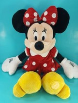 "Disney Store Mickey Mouse Clubhouse Minnie Mouse 18"" Red & White Plush S... - $16.92"