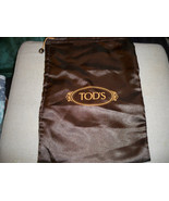 AUTHENTIC TOD'S Satin  Dust Bag Shoes  Travel Storage 9x13 Made in Italy - $8.41