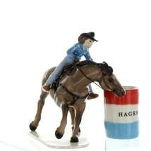 Hagen Renaker Horse Rodeo Barrel Racer Ceramic Figurine image 6