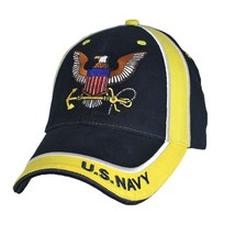 U.S. Navy Officially Licensed With Navy Insignia Baseball Cap Hat - $17.95