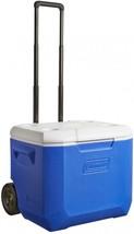 NEW! Cooler 60-Quart Coleman Wheeled Plastic Chest Heavy duty Portable - €54,88 EUR