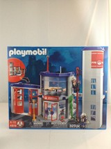 New Playmobil 4819 Fire Rescue Fire Station Firemen 323 Piece Building T... - $136.50