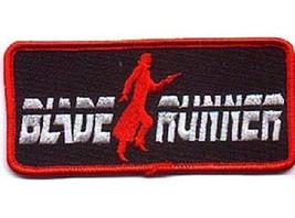 Blade Runner Movie Name Logo Embroidered Patch, NEW UNUSED - $7.84