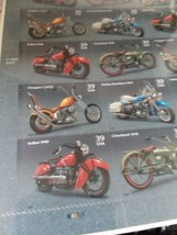 2005 USPS American Motorcycles Sheet of 20  Postage 39 cent  Harley &Ind... - $10.94