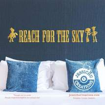 Reach for the Sky - Toy Story Inspired Disney Quote Wall Vinyl Decal, St... - $7.00+
