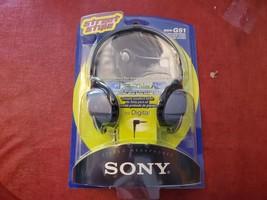 1997 SONY Walkman Carman Street Style Wired Headphones MDR-G51 Made in Japan - $61.34