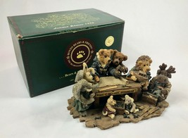 Boyds Bears & Friends Noah and Company Ark Builders with Original Box & ... - $33.86