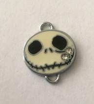 "Jack Skellington Head Necklace Pendant .75""Wx.5""H Nightmare Before Christmas - $3.80"