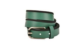 Emporio Armani Womens Y4S021 Belt Genuine Leather YK50E Green Size 50 - $54.47