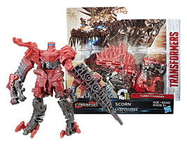 Transformers: The Last Knight Cyberfire Scorn Turbo Changer New in Box - $15.88